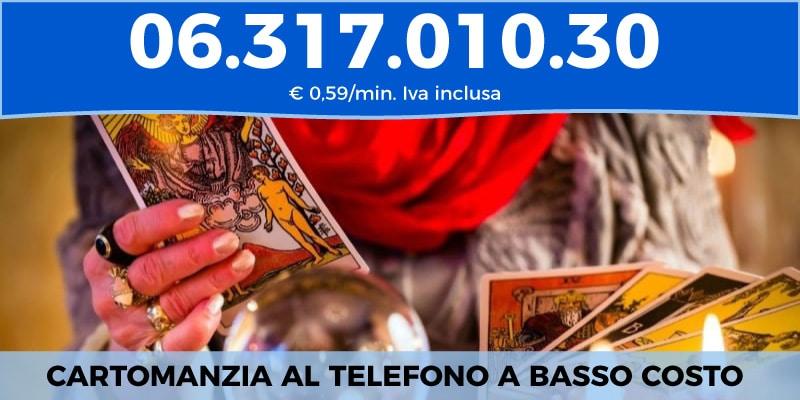 cartomanzia al telefono a basso costo