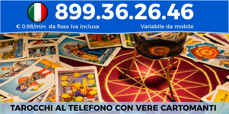 tarocchi al telefono numero 899